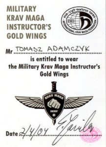 military instructor gold wing para tomasz adamczyk